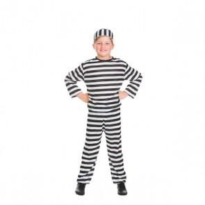 Costume de Prisonnier avec Bonnet