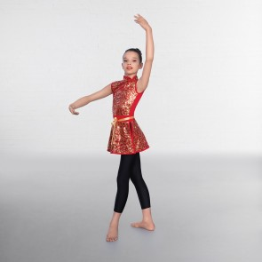 1st Position Chinese Sequin Over Dress