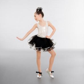 1st Position Sequin Waistband Tutu skirt