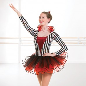 Striped Long Sleeved Tutu