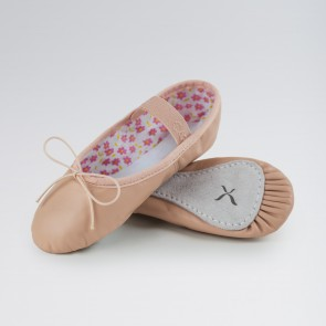 Capezio - Zapatillas de ballet Daisy de cuero (rosa)