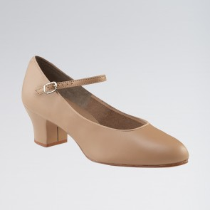 Capezio Suede Sole Junior Footlight™ Character Shoe