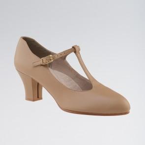 Capezio Junior Footlight™ Chaussures de Caractère Lanière en T