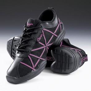 Capezio Hot Pink Web Dance Sneakers