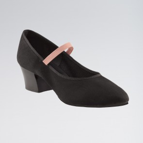 "Capezio Academy Character Shoes with 1.5"" Heel"