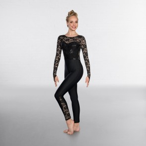 1st Position Sequin Lace Unitard