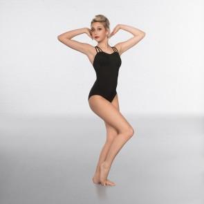1st Position Fashion-Trikot mit Mesh über der Brust und überkreuzten Rückenträgern