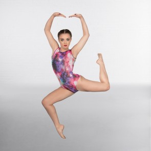 1st Position Galaxy Sleeveless Leotard