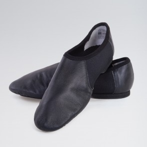 1st Position Split Sole Jazz Shoe with Suede Sole