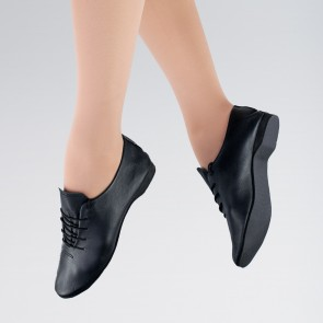 """Basic"" Scarpe Jazz in Pelle - Nero"