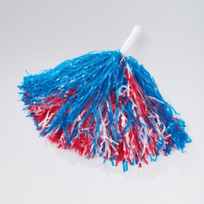 Hand Held Pom Pom (Red/White/Blue)
