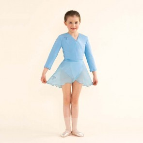 Melody Bear Pale Blue Skirt