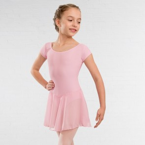 NATD Class / Preliminary/Grade 1 Voile Skirted Cap Sleeved Leotard