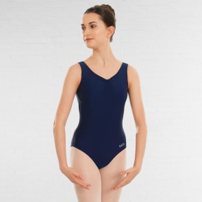 NATD Grades 2/3/4 Sleeveless Ruched Front Lined leotard