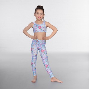 1st Position - Leggings con Estampado de Sirena