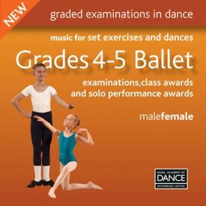 Grades 4-5 Ballet CD