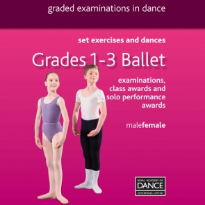 RAD Grades 1-3 Ballett DVD
