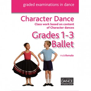 RAD CD de Danse Caractère Grades 1-3