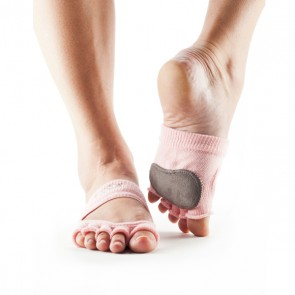 ToeSox Relevé No Toe Grip