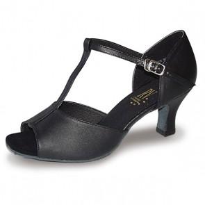 Roch Valley 2Lcl Zapato de Baile de Salón de Señora de Piel con Tira en Forma de T y Tacón de 5 cm