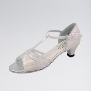 Roch Valley Evie Ballroom Coag Shoe with T-Bar Straps 1.2 inch Spanish Heel
