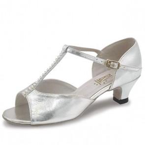 Roch Valley Lara Zapato de Baile de Salón con Tira en Forma de T y Tacón de 3 cm