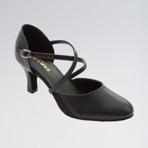 So Danca Elasticated Gussets Easy Buckle Cross Straps Ballroom Shoes