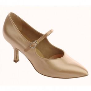 Supadance - Zapato satinado de salón en punta