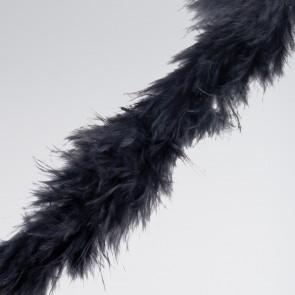 Black Marabou Trim (2 metre)