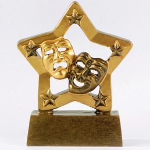 Trofeo máscaras y estrellas
