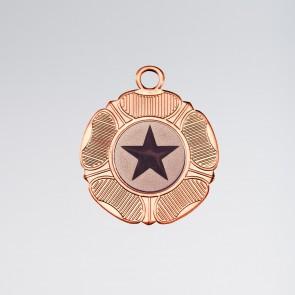 Tudor Rose Medaille (Bronze)
