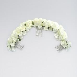 Haarreif mit Blumen