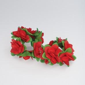 Flower Scrunchies pair