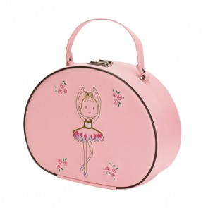 Katz Pink Ballerina Hard Beauty Case
