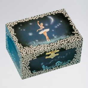 Ballerina Moon & Stars Jewellery Music Box