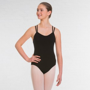 UKA Grade 5-8 and Majors Ballet & Tap Double Strap Cross Back Leotard