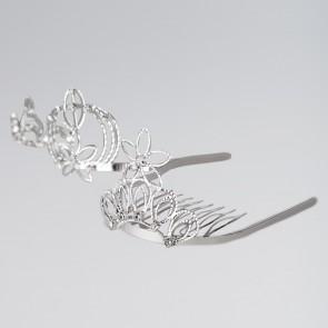 Tiara On Comb (Various Designs)