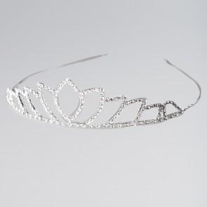 Classic Petal Diamante Tiara