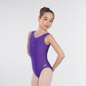 United Teachers of Dance Angela Ruched Front Leotard