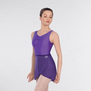 UTD Level 3-6 Ballet Purple Wrapover Skirt