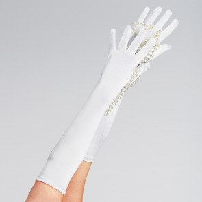 Long Satin Glove