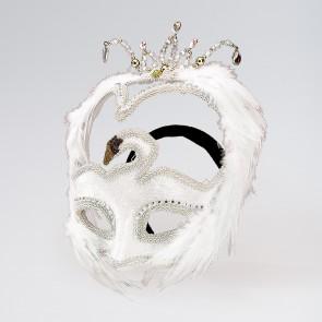 Weiße Schwanen-Maske