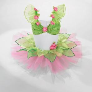 Pink and Green Petal Tutu