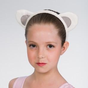 White Animal Ears