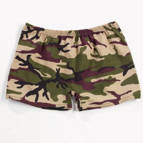 Camo Print Hotpants