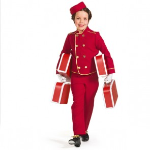 Bell Boy Trouser Outfit with Hat