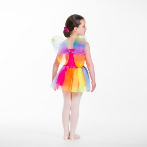 Rainbow Wings and Skirt Set Multi Child One Size