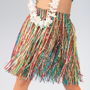Hawaiian Grass Skirt (Child One Size) Length 41cm