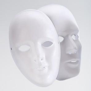 Maschera Viso - Uomo (Bianca)