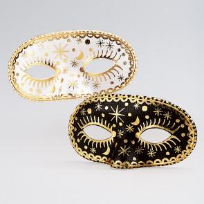 Maschera Nero/Oro